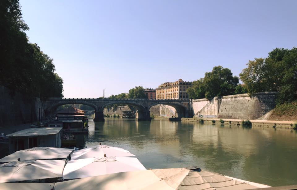 Roma e il Tevere, una storia di amore infinito